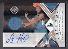 Lazar Hayward 2010-11 Panini Limited Rookie Phenoms Jersey Auto Card #179