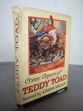 Comic Capers of Teddy Toad by A Fairfax Muckley Hb Illustrated