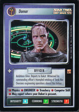 STAR TREK CCG REFLECTIONS VERY RARE DAMAR