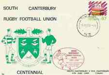 NEW ZEALAND 6.6.88 RUGBY COMMEMORATIVE COVER - South Canterbury RU Centenary