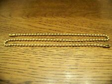 "PULL CHAIN EXTENSION 18 "" LIGHT OR FAN   BRASS  FINISH"