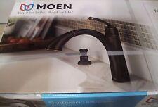 Moen Sullivan Mediterranean Bronze Single Handle Kitchen Faucet # 87047BRB