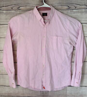 UNTUCKit L Large Pink Long Sleeve Shirt Button Front - Runs Slim