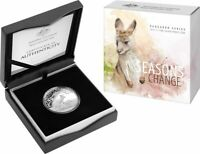 2017 $1 Kangaroo Series - Seasons Change Silver Proof Coin