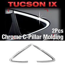 Chrome Silver C Pillar Garnish Molding Cover  For HYUNDAI 2010-2015 Tucson ix35