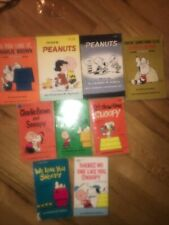 Vintage 1960s/70s Peanuts Charlie Brown Snoopy Paper Books Lot of One First Ed!