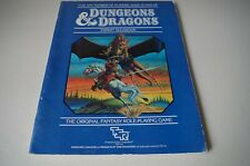 Dungeons & Dragons Expert Rules book only