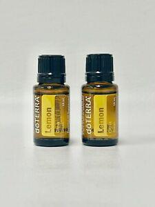 doTerra Lemon citrus Limon 15mL [2-Pack] Free Shipping! EXP. 2025