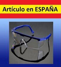 GAFAS protectoras SEGURIDAD protege tus ojos trabajo madera transparentes pulir