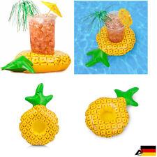 Aufblasbare Getränkehalter Wasser Ananas Pool Minibar Dosen Flasche Trinkhalter