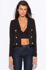 Six-button double-breasted blazer by San Julian (Wenjie), Made in the USA