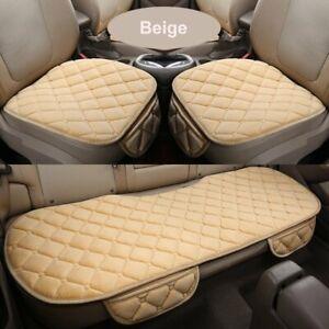 Plush Car Seat Cover Universal Front Rear Auto Chair Cushion Pad Mat Warm GOO