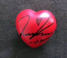 hand signed TVXQ 東方神起 Jung Yunho U-KNOW autographed concert ball heart  022019