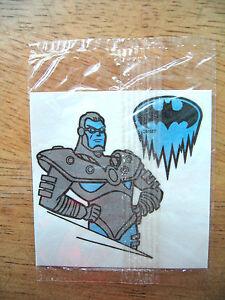 1997 Kellogg's Batman & Robin Cereal Premium Temporary Tattoo NIP Mr Freeze