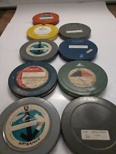 Nine 16MM Films Movies  Assorted Titles See Pictures