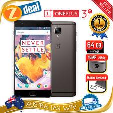 (BRAND NEW SEALED BOX) ONEPLUS 3T 64GB 128GB DUAL SIM UNLOCKED PHONE 6GB RAM