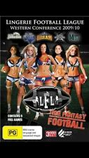 Lingerie Football League LFL Western Conference 09/10 (3DVD) NEW/SEALED