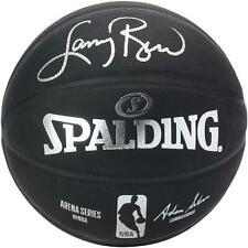 Larry Bird Boston Celtics Autographed Black Spalding Indoor/Outdoor Basketball