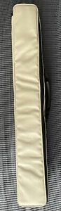 Luxury Cricket Bat Cover Faux Leather, Light Weight, Zip Closure, Shoulder Strap