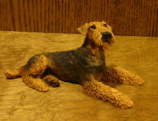 "Animal Figurines by Castagna #0891 AIREDALE TERRIER, NEW/Box  3.5"" x 7"" DOG"