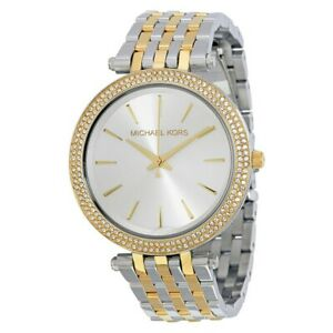 Michael Kors Darci Two Tone Stainless Steel Womens Watch MK3215