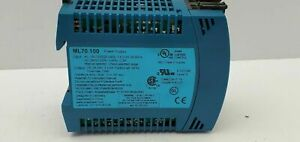 Puls ML70.100 Power Supply 220-240VAC 24VDC 8A DIN Rail Mount