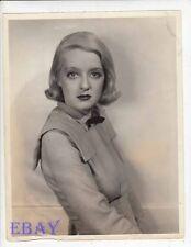 Bette Davis 1934 VINTAGE Photo