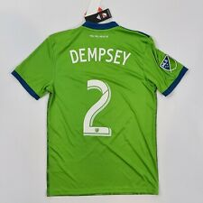 DEMPSEY 2018 Seattle Sounders Home Shirt Football Kit Jersey Adidas BNWT SMALL