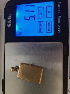 Schmuck- Medaillon, 585 Gelbgold Kettenanhänger