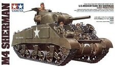 Tamiya 35190 1/35 Scale Model Kit WWII U.S Medium Tank M4 Sherman Early Prod.
