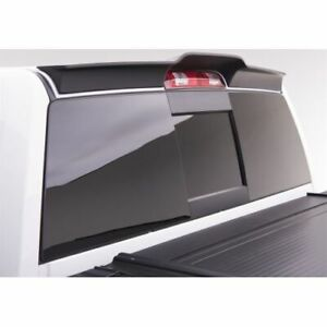 EGR 982859 Smooth Style Cab Spoiler - Black, For Dodge Ram 1500/2500/3500 NEW
