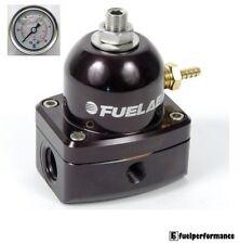 Fuelab Efi combustible regulador de presión (Negro) # 51502-1