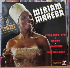 MIRIAM MAKEBA IN CONCERT FRENCH EP REPRISE