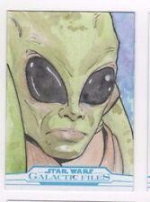 2017 Star Wars Galactic Files Reborn sketch card Matthew Sutton