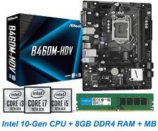 Intel 10th-Gen Core-i5 10400 CPU 8GB DDR4 RAM B460 Chipset MB PC Upgrade Combo