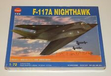 Kitech F-117A Nighthawk Plastic Model Kit 1:72 Scale Sealed