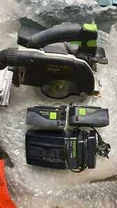 Festool HKC 55 EB 18V 2x5.2Ah 160mm Cordless Circular Saw with charger. no case