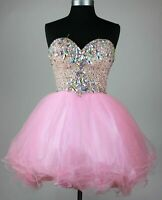 Sweetheart 16 Cocktail Short Homecoming Formal Ball Party Evening Prom Dresses
