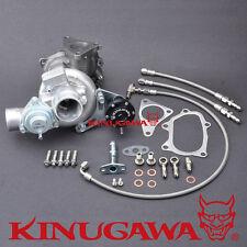 Kinugawa Turbocharger TD04L-14T 6cm w/ BOV Bolt On Subaru / Spool Faster / 250HP