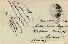 CARTOLINA POSTA MILITARE ... DIVISIONE 1915 WWI PRIMA GUERRA MONDIALE 16-15