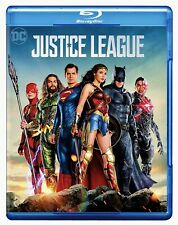 Justice League (Blu-Ray) Brand New Factory Sealed Zack Snyder Dceu Gal Gadot