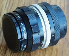 Nikon Nikkor-O 35mm 1:2 lens | non-AI Nippon Kogaku 35/2 35 f2