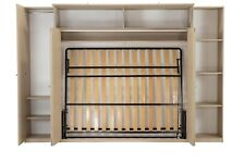King Size Wallbed in Pine Cabinet ,Clearance ( Wallbed Murphy bed Foldaway bed )