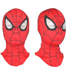 Super Heroes Spiderman Mask Adult Kids Cosplay Fancy Dress Costume Party