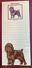 Affenpinscher Notepad and Wood Magnet