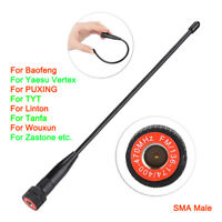 SMA Male VHF UHF Two Way Radio Antenna for Baofeng Kenwood Yaesu Walkie Talkie