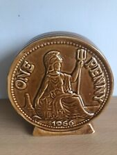 More details for vintage money box 1966 world cup one penny