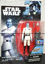 """New Star Wars Rebels Rogue One Series 3.75"""" Figure Grand Admiral Thrawn Variant"""