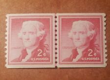 GM14 Thomas Jefferson 2 Cent MNH 2 Stamps