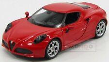 Alfa Romeo 4C 2013 Red Welly 1:24 WE24048R